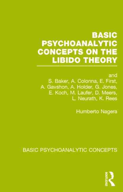 Basic Psychoanalytic Concepts By Nagera, Humberto (EDT)